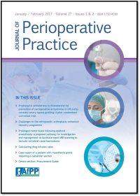 Journal of Perioperative Practice logo