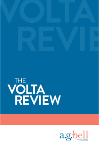 The Volta Review logo