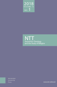 NTT Journal for Theology and the Study of Religion logo