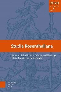 Studia Rosenthaliana: Journal of the History, Culture and Heritage of the Jews in the Netherlands logo