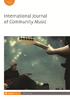 International Journal of Community Music logo