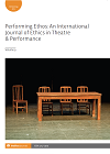Performing Ethos: International Journal of Ethics in Theatre & Performance logo