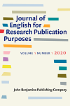 Journal of English for Research Publication Purposes logo