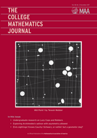 The College Mathematics Journal logo