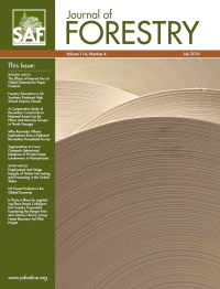 Journal of Forestry logo