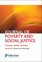 Journal of Poverty and Social Justice logo