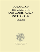 Journal of the Warburg and Courtauld Institutes logo