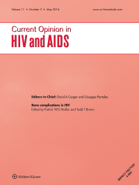 Current Opinion in HIV and AIDS logo