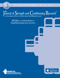 Journal of Strength and Conditioning Research logo