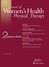 Journal of Women's Health Physical Therapy logo
