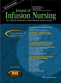 Journal of Infusion Nursing logo