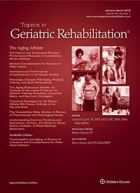 Topics in Geriatric Rehabilitation logo