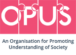 OPUS - Organisation for Promoting Understanding of Society logo
