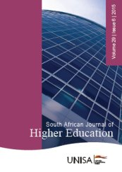 South African Journal of Higher Education logo